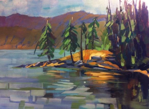 Reflections on Saltspring Island